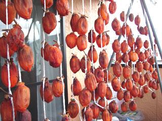 甲州百匁柿の枯露柿_20061212_01